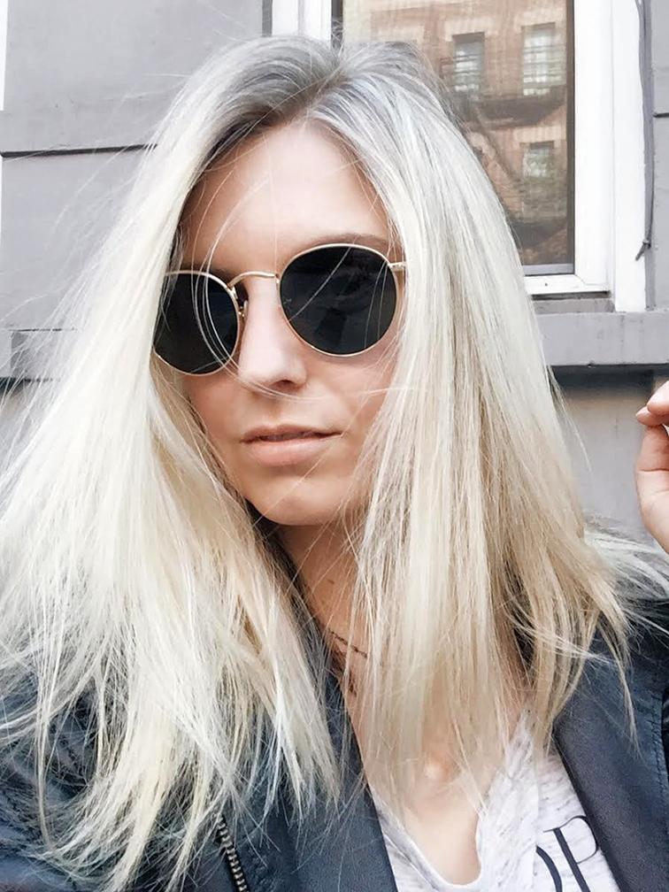 fashion over reason blonde mirjam bayoumi salon, blond swedish hair salon nyc