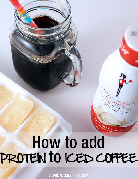 How to Add Protein to Iced Coffee