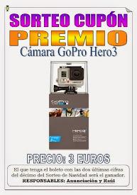 SORTEO CUPÓN PREMIO Cámara GoPro