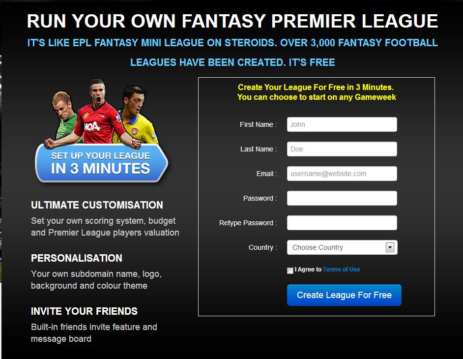 Fantasy Premier League Hints Fantasy Premier League Commissioner Tweak Your Fantasy Epl League To Your Own Desire