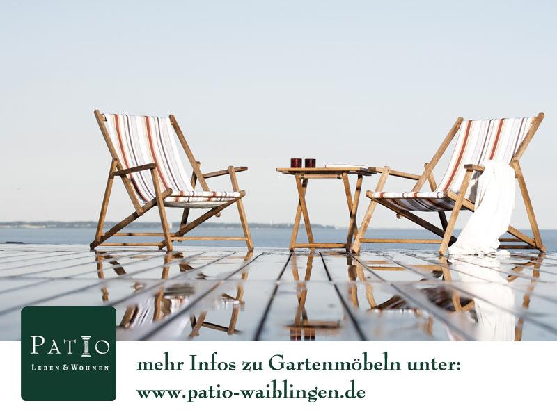 Patio Leben und Wohnen - Einrichtungen nach Maß: Gartenmöbel Saison ...