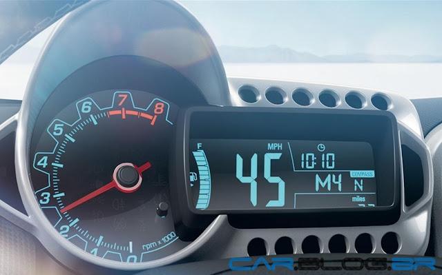 Chevrolet Sonic 2013 - painel de instrumentos