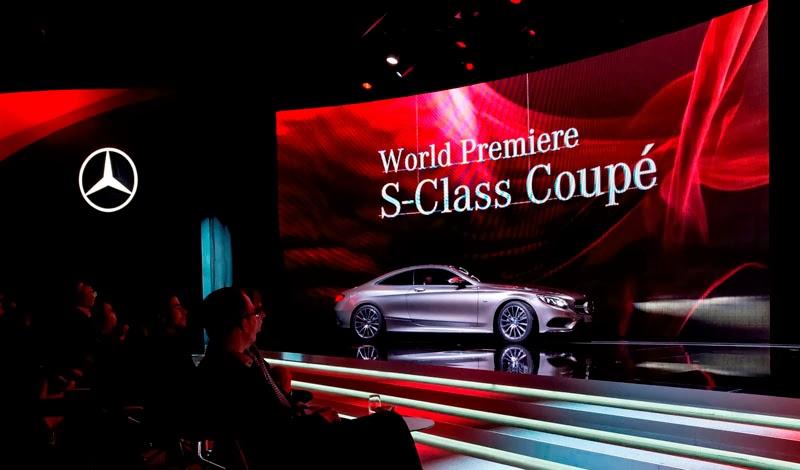 Dünya Prömiyeri ;S Classe Coupe
