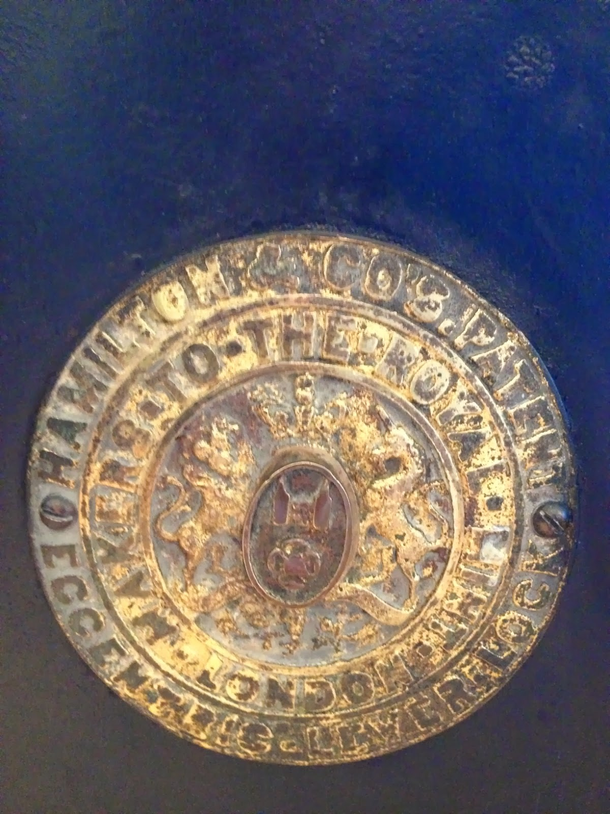 Hamilton & Co's Patent Eccentric Lever Lock Safe