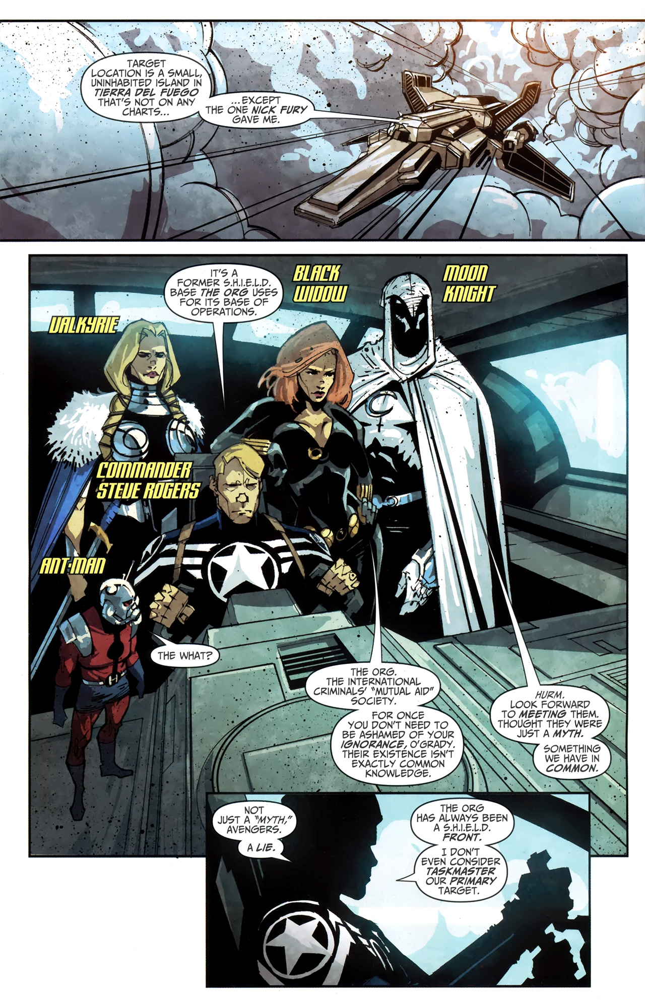 Read online Taskmaster (2010) comic -  Issue #4 - 3