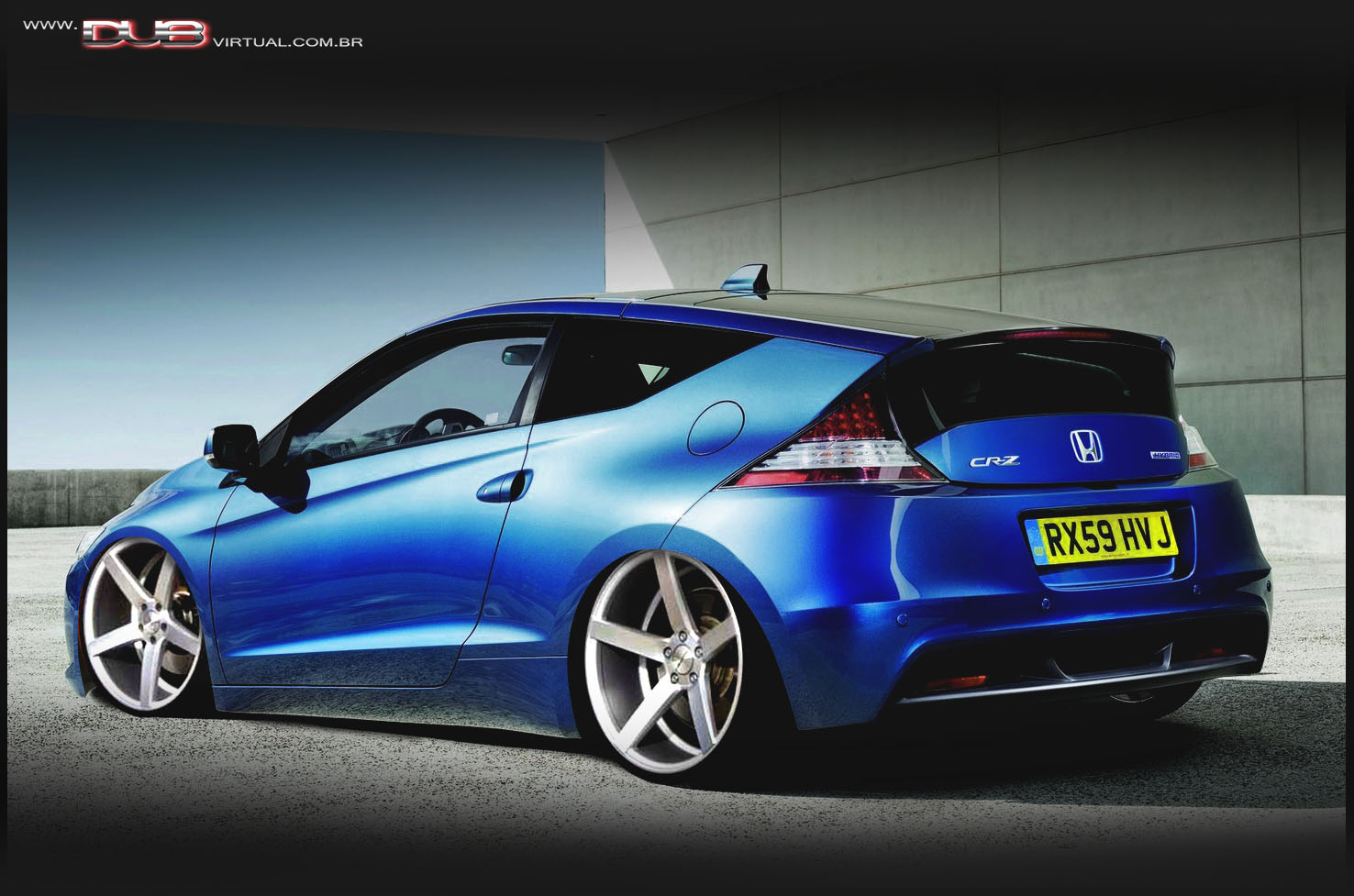 carros pap is de parede wallpapers honda cr z tuning pra. Black Bedroom Furniture Sets. Home Design Ideas