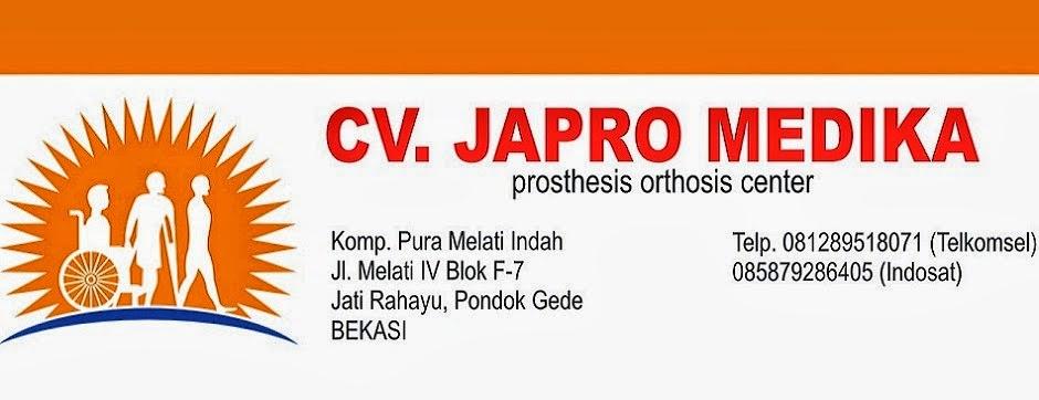 Pembuat Tangan Palsu | CV Japro Medika