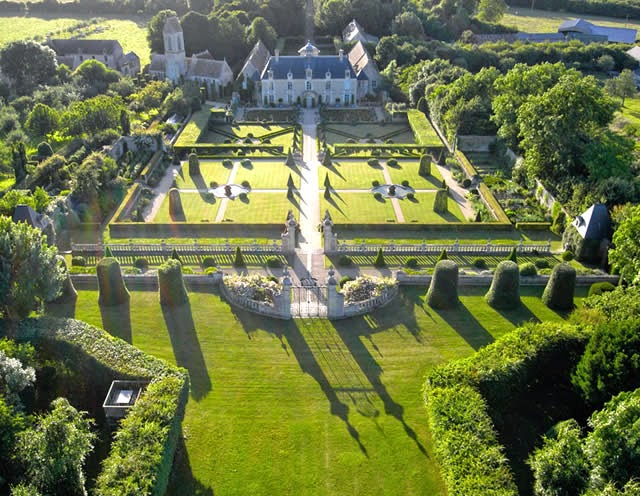 Chateau de Brecy in Normandy, France