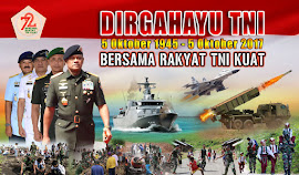 DOWNLOAD LOGO TEMA SPANDUK BALIHO HUT TNI KE 72