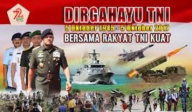 DOWNLOAD LOGO TEMA SPANDUK BALIHO HUT TNI KE 72