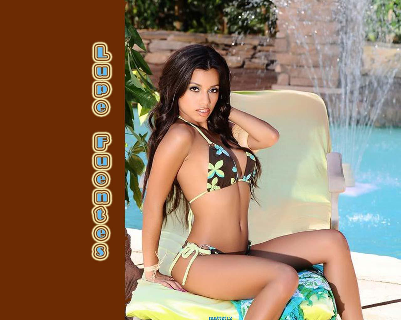 Trailer Trash: New Lupe Fuentes Wallpaper