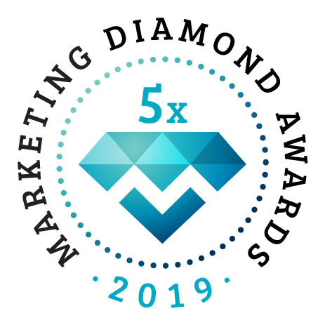5 X Marketing Gyémánt Díj 2019 a Marketing Diamond Awardson!