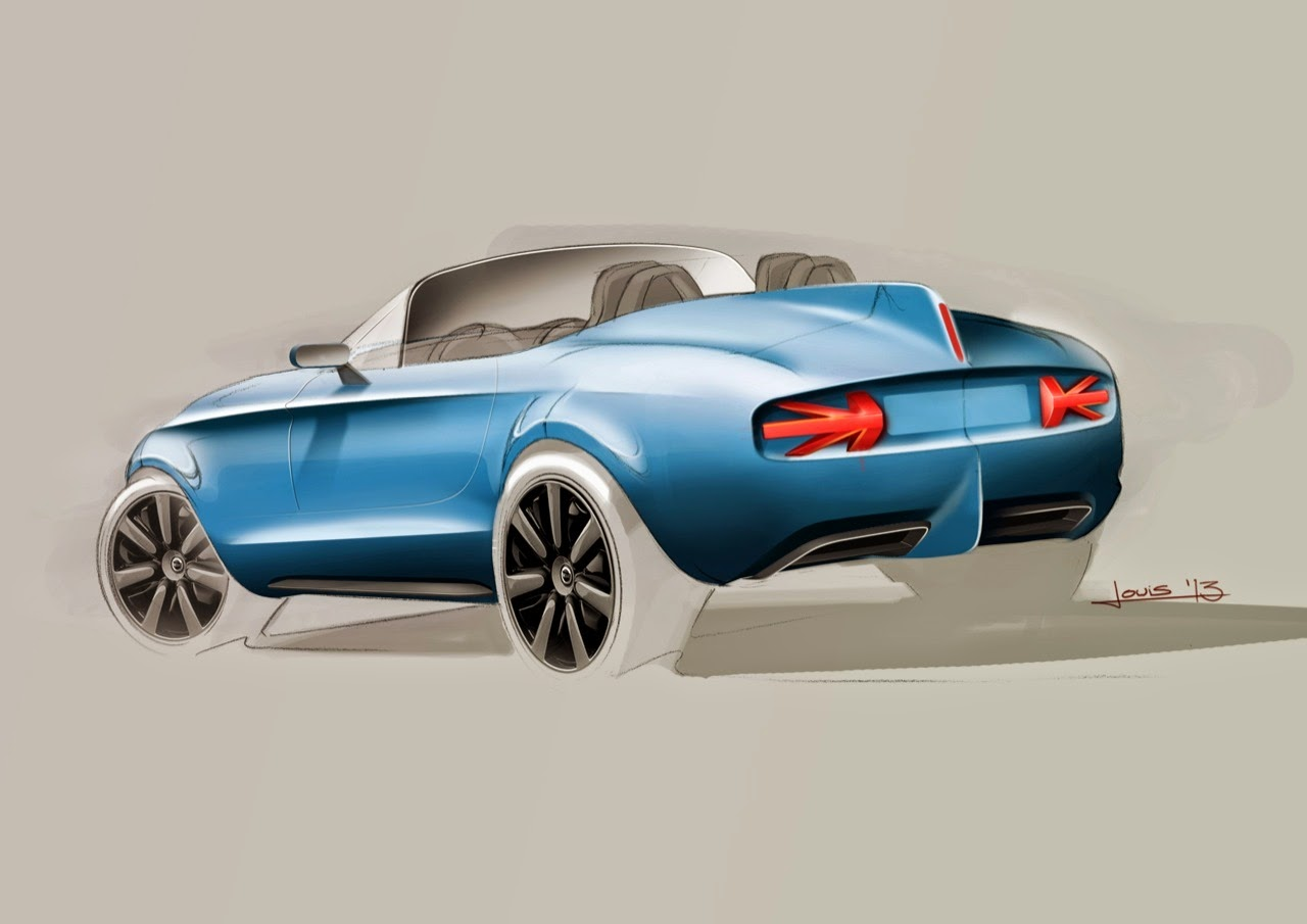 Mini Superleggera Vision - Sketches Photos - Cars Magazine
