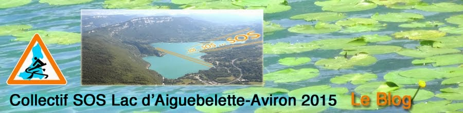 collectif SOS Lac Aiguebelette 2015