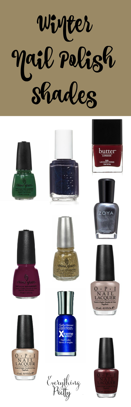 Top 10 Nail Polishes for Winter