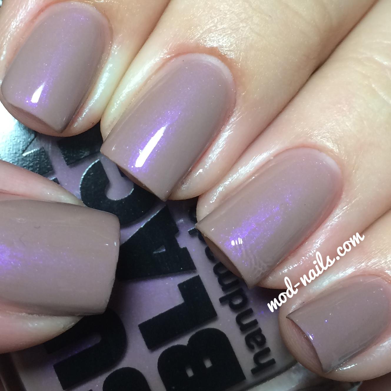 Purple Taupe Nail Polish: ModNails: FALL 2014 SUPER BLACK LACQUER COLLECTION