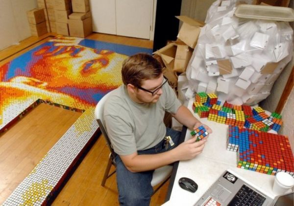 Kamu Jago Rubik ?? Coba Lawan Orang Ini !! [ www.BlogApaAja.com ]