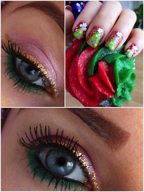 Xmas make-up ! Świąteczno - Sylwestrowy make-up!