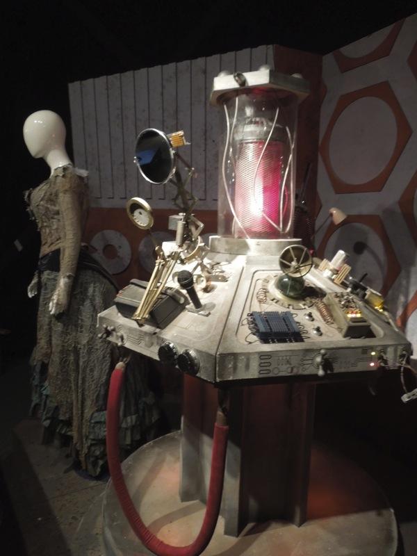 Doctor Who junkyard TARDIS console