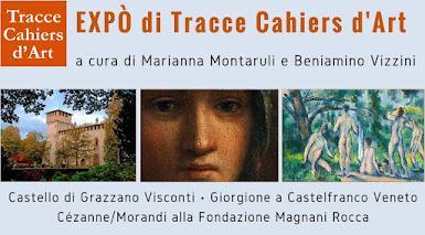 EXPÒ - TRACCE CAHIERS D&#39;ART<br>a cura di Marianna Montaruli e Beniamino Vizzini