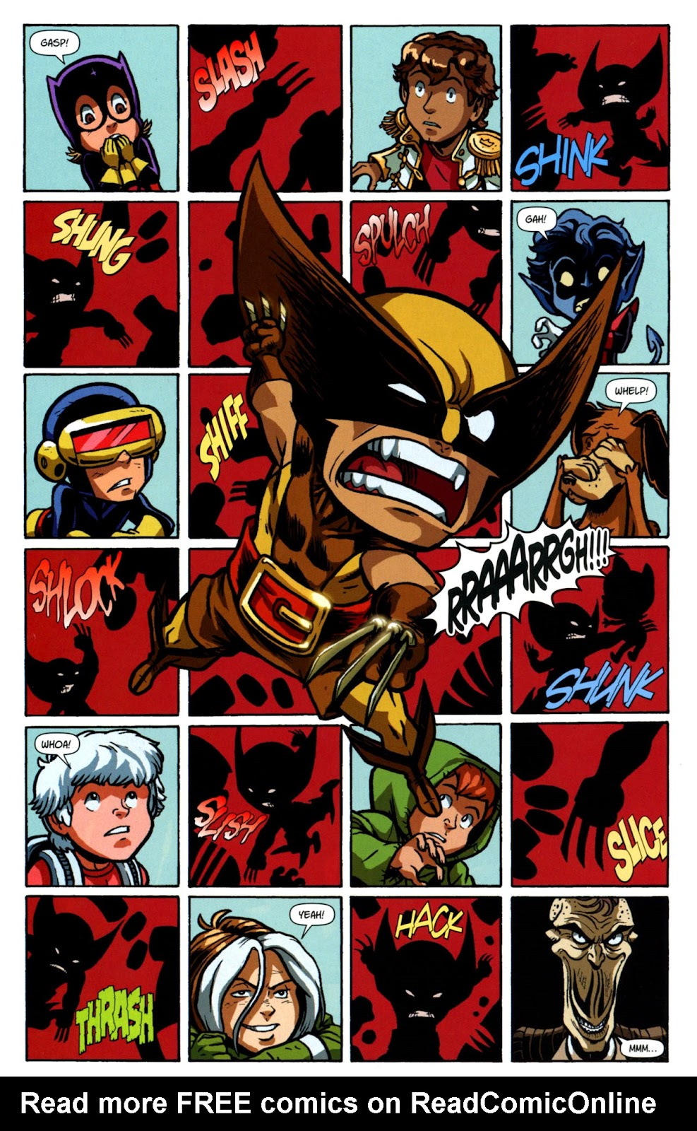 Read online X-Babies comic -  Issue #3 - 22