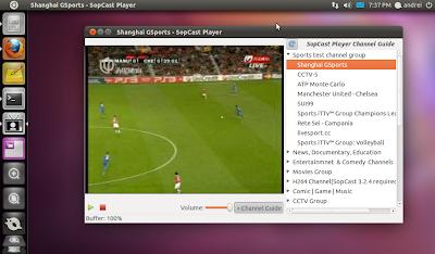Installer SOPCAST Sous Ubuntu 11.04 Natty Narwhal [PPA]