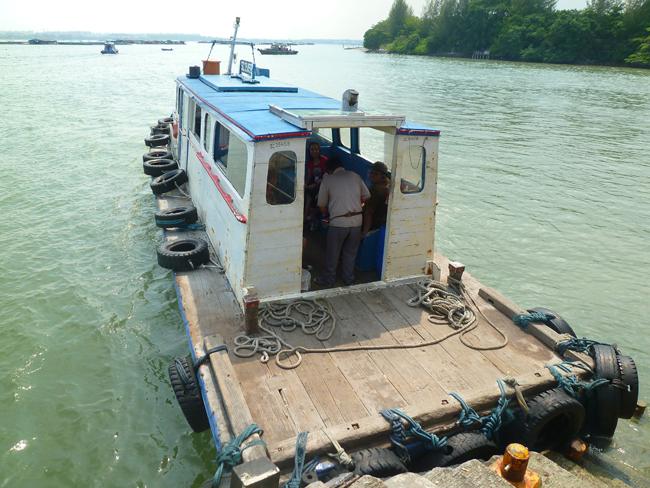 De nuevo en el ferry