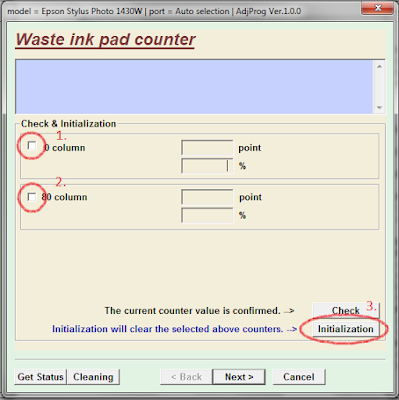 click to complete the process initialization