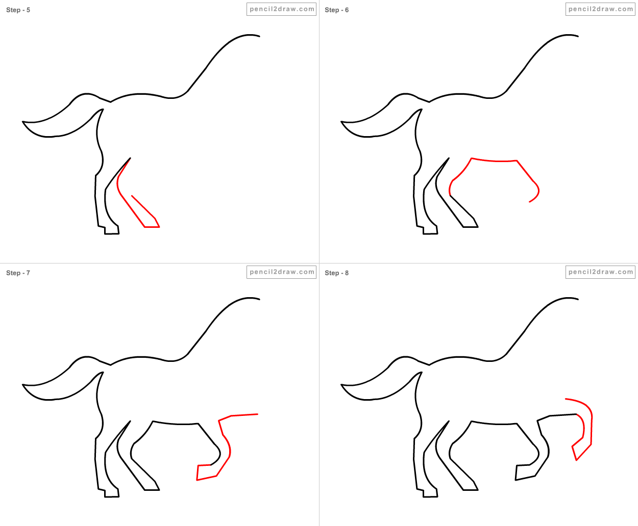 Source: 2bpspot · Report How To Draw A Horse Step 2020 Other Images: How