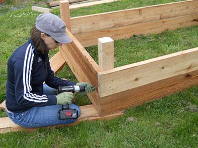 Backyard Planter Designs small landscaping small backyard Backyard Planter Box Build Installation