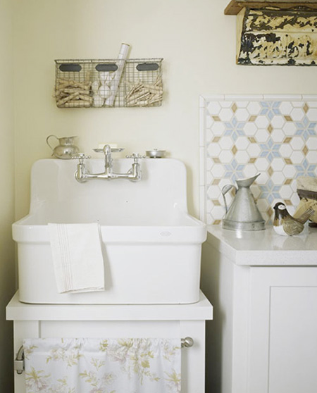 Utility Sinks For Laundry Room: Nostalgia And Now: Laundry Rooms