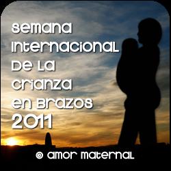 Semana Internacional de la Crianza en Brazos 2011. Amor Maternal
