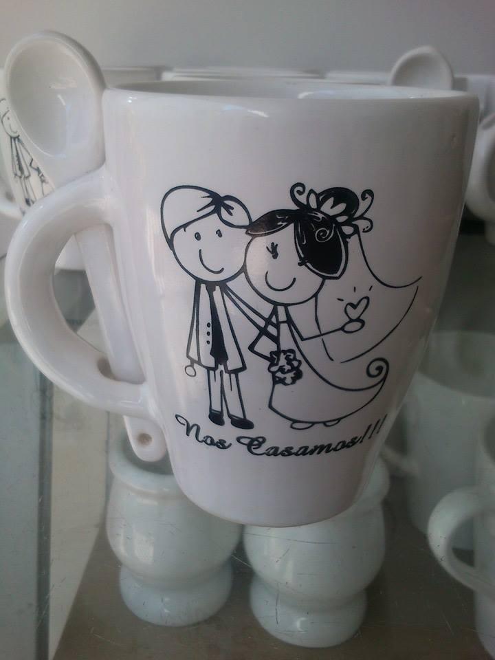 Tazas de ceramica y vajilla especiales y personalizadas - Decoracion de tazas ...