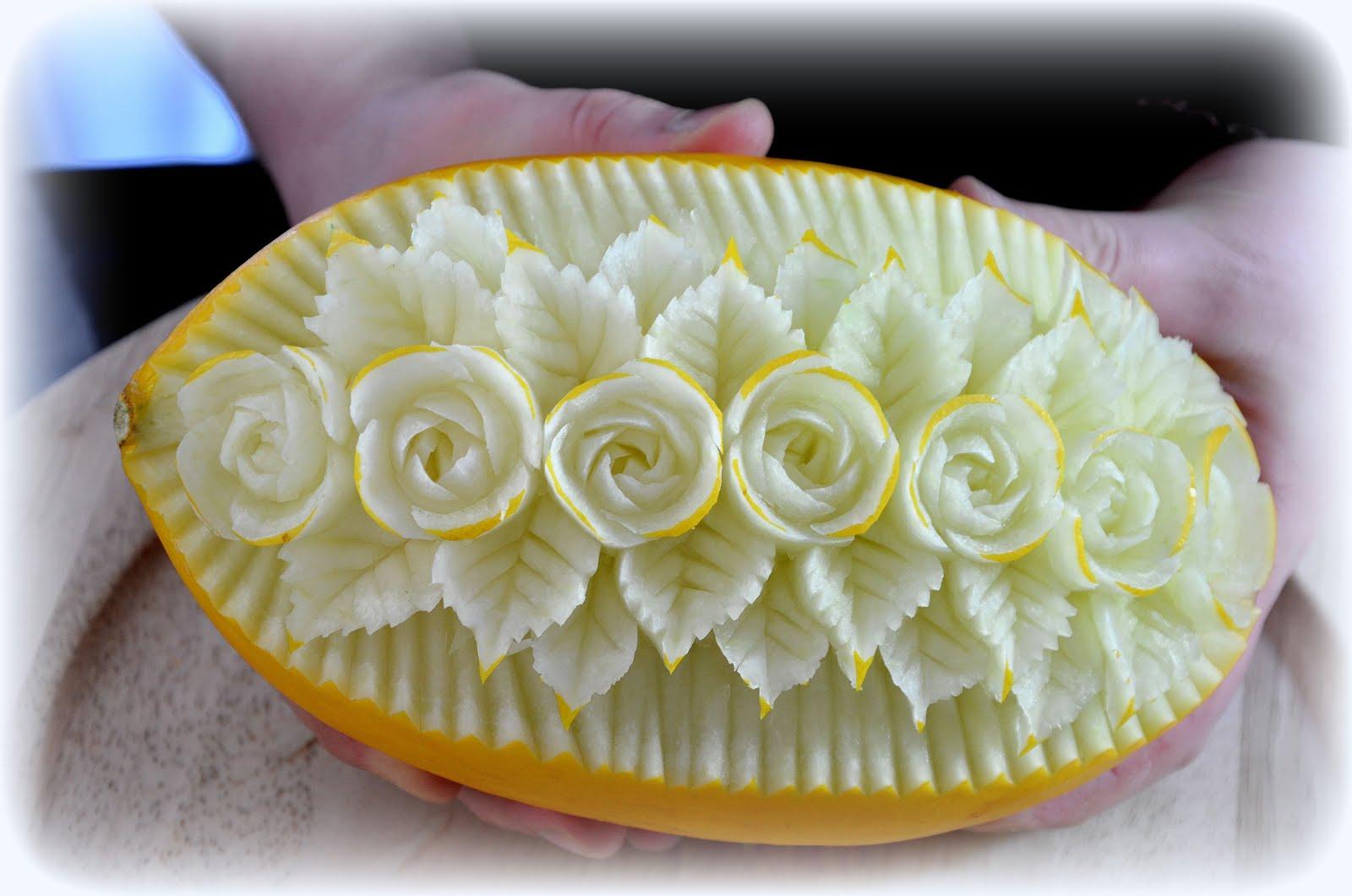 Melon Roses