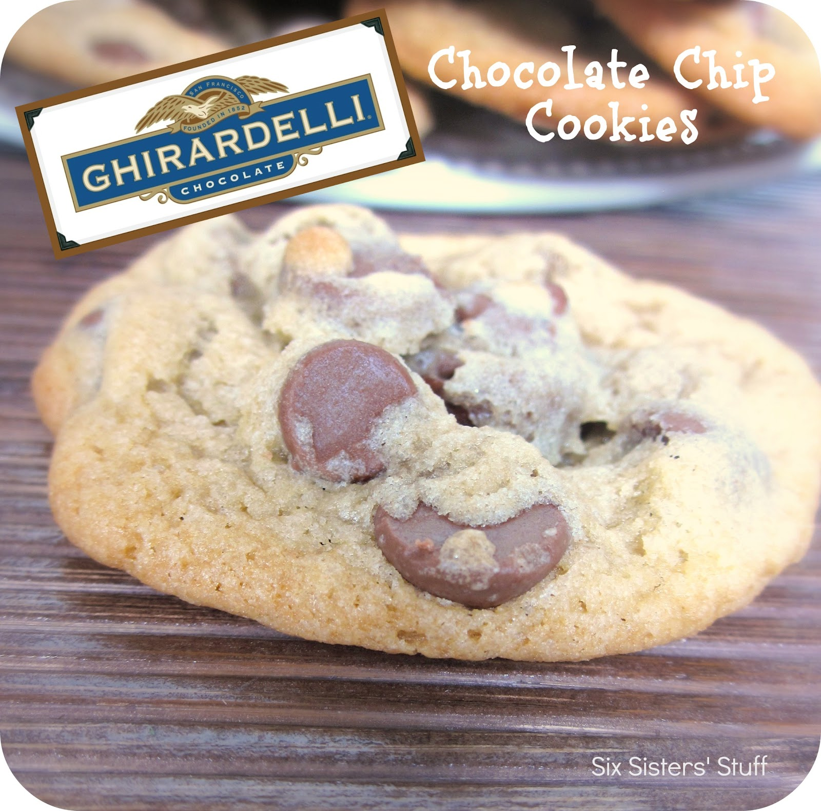 Ghirardelli milk chocolate chips cookie recipe