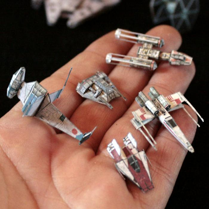 star wars papercraft miniature gaming starships. Black Bedroom Furniture Sets. Home Design Ideas