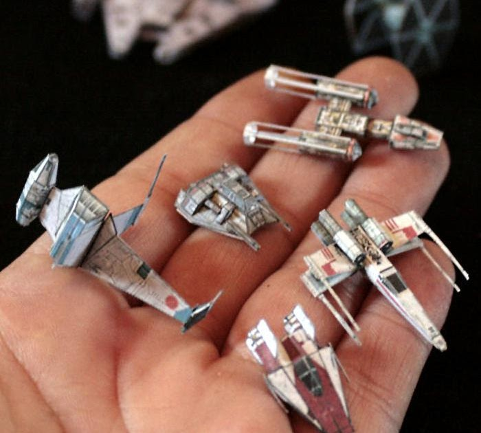 papercaft star wars miniature gaming. Black Bedroom Furniture Sets. Home Design Ideas