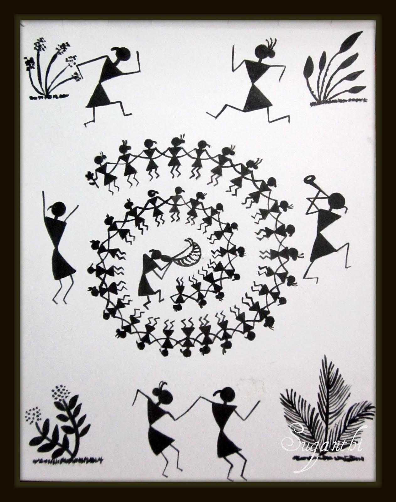 SPARKLERS: Warli- Tarpa dance