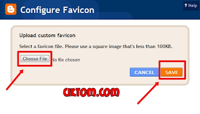 edit favicon blogspot
