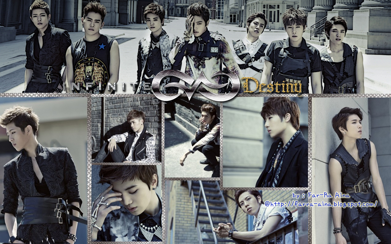 k pop lover infinite destiny wallpaper
