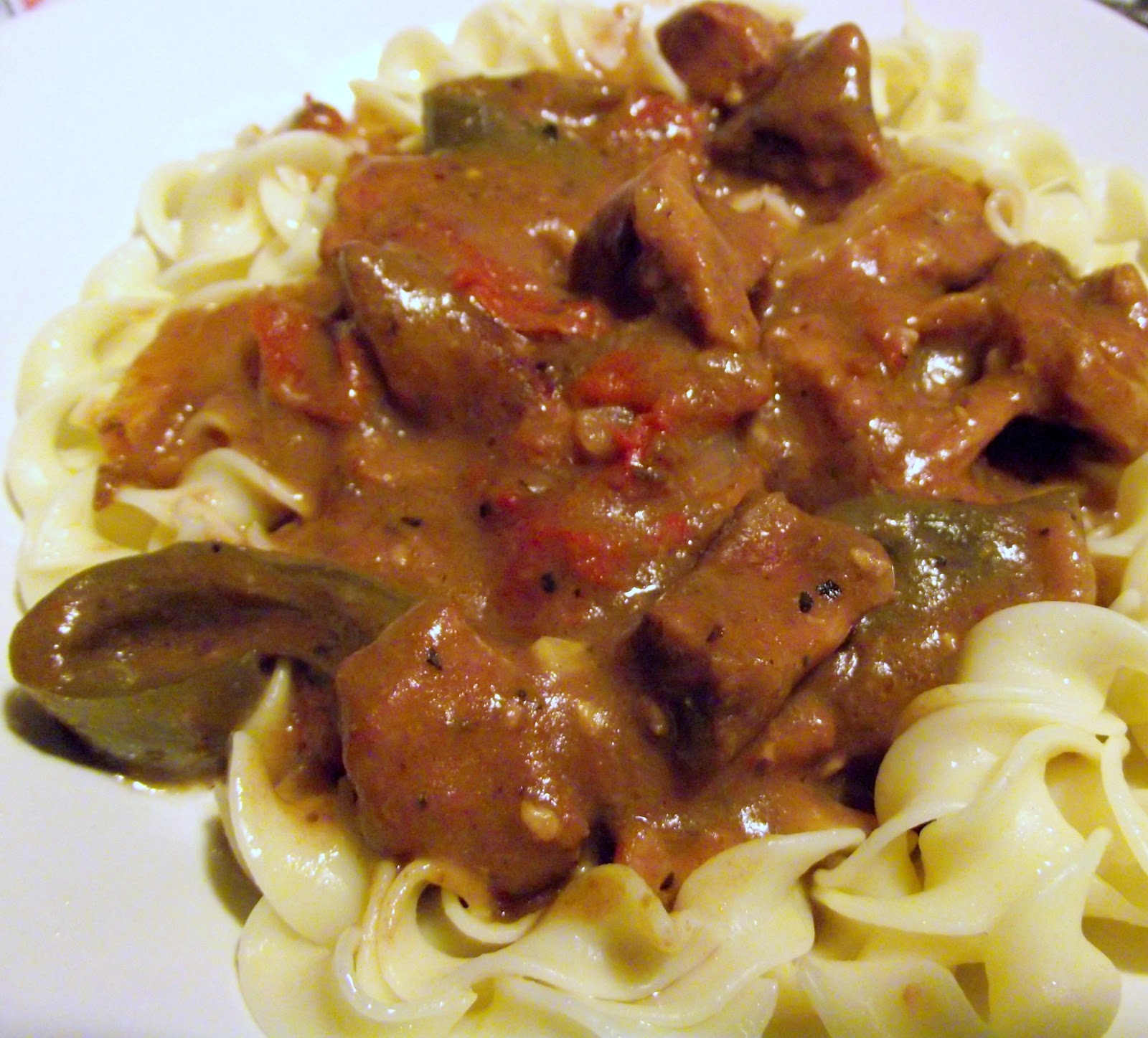 View at Five-Two: Freezer to Crockpot - Pepper Steak With Noodles