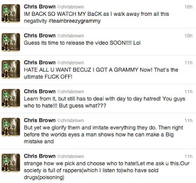 News // Chris Brown, Le Twitt De Trop?