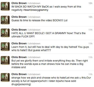 >News // Chris Brown, Le Twitt De Trop?