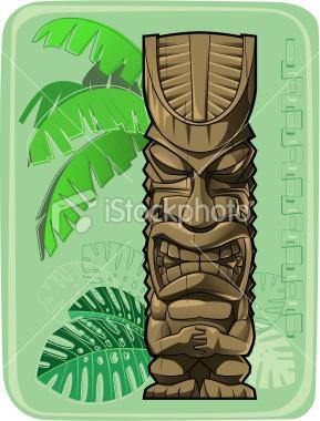 Paula e david tiki toten hawaiano 51 for Tiki hawaiano