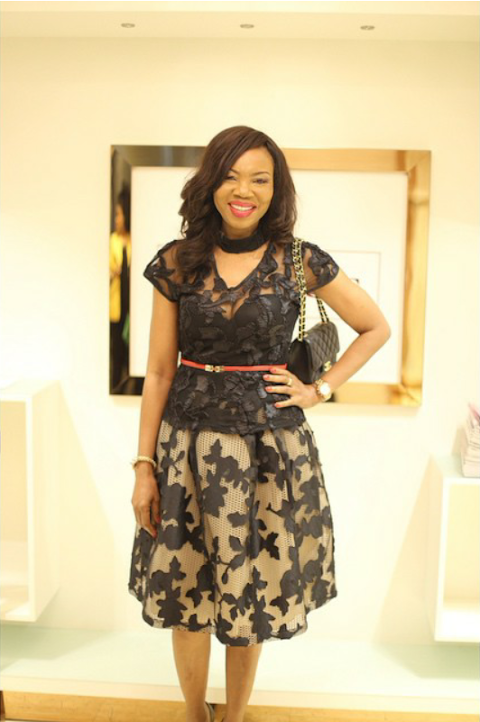Photos from Genevieve Magazine Website Launch .