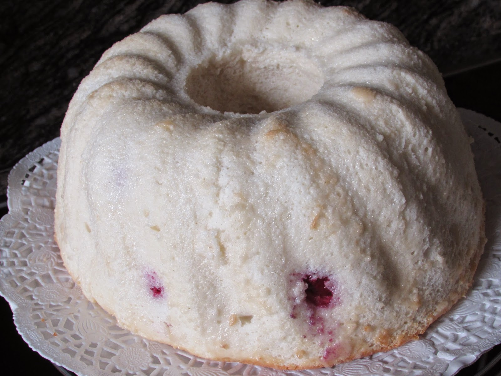 Angel food cake, receta