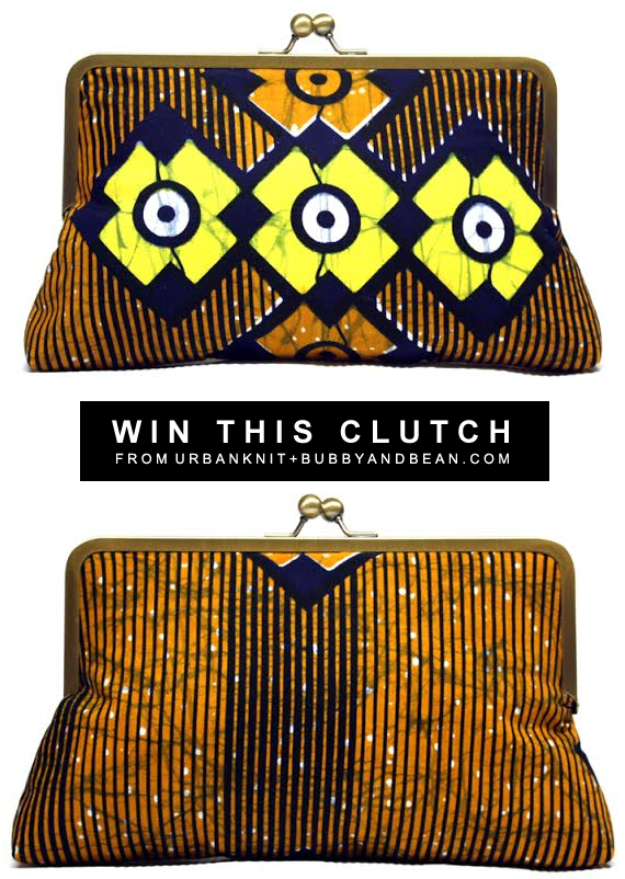 GIVEAWAY // Win a Win A Supersnap Clutch from Urbanknit at Bubby & Bean!