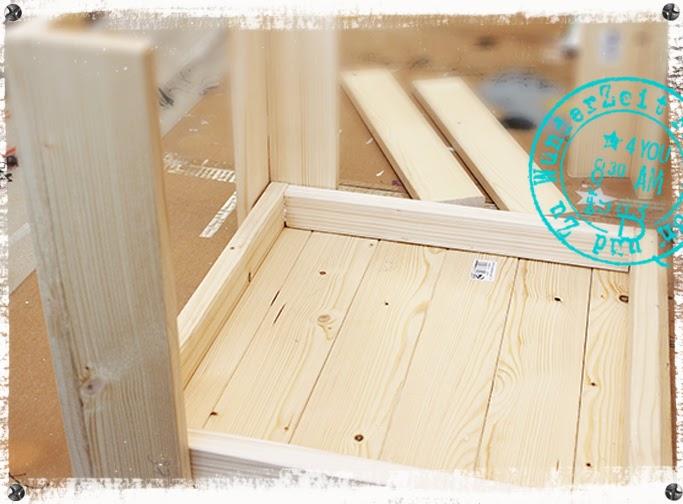 Tischplatte selber verleimen  Frau Von und Zu WunderZeit : Holztisch selber bauen DIY