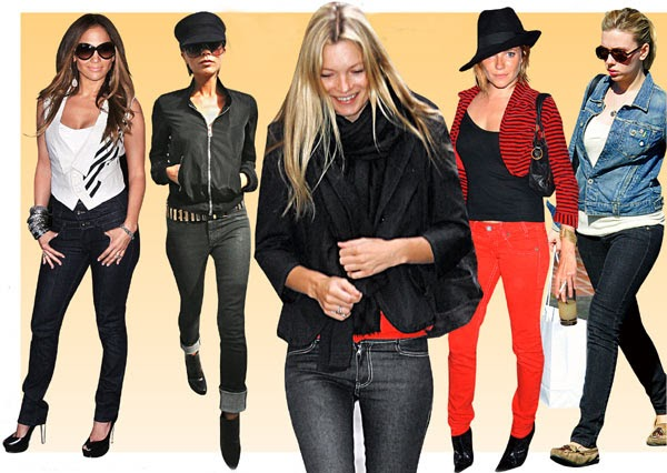 How to Fit Your Ankle Boots with Skinny Tight Jeans