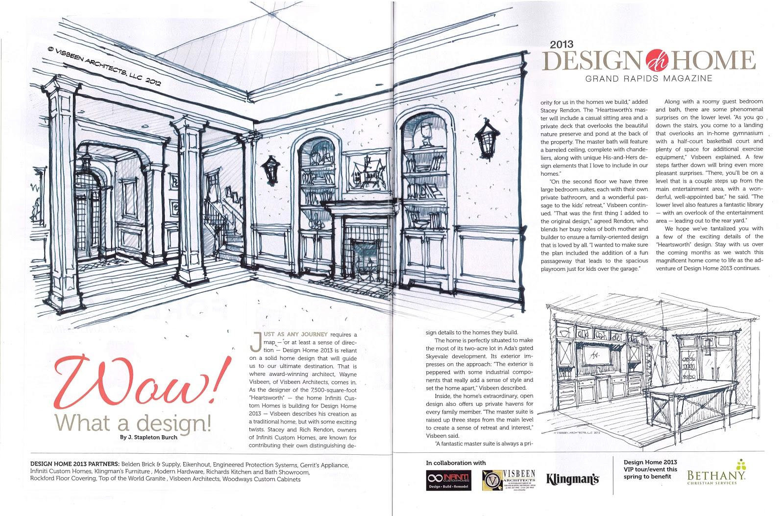 Grand Rapids Magazine Design Home 2013: Wow! What a design ...